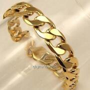 Mens Gold Curb Chain