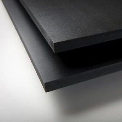 Black Sintra Pvc Foam Board Plastic Sheets 2 Mm 12 X 24