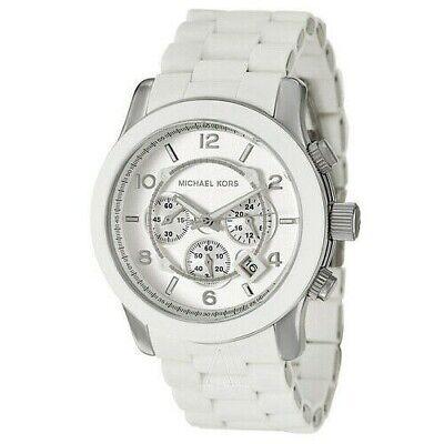 Michael Kors  MK8108 Catwalk Chronograph White And Silver Men's  Watch