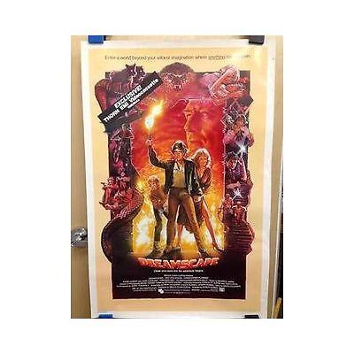 DREAMSCAPE Original Home Video Poster PLUMMER QUAID