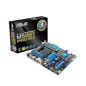 Asus Mobo, Kingston RAM,  AMD FX CPU