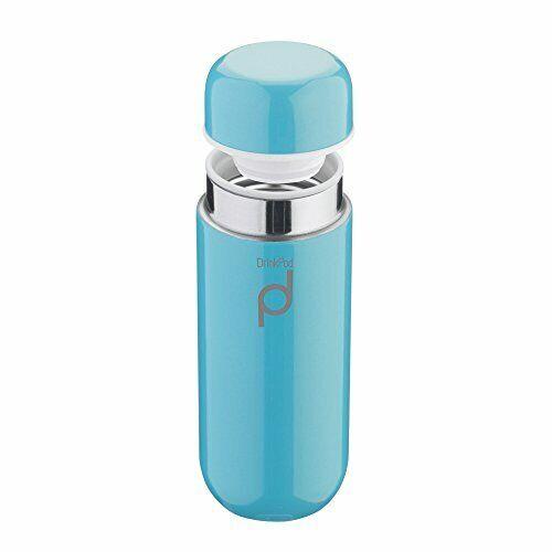 Pioneer Thermos DrinkPod in Acciaio Inox, Inox 18/10, Blu, 0,2 L, Blu
