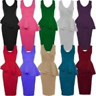 Machine Washable Plus Size Dresses for Women with Peplum