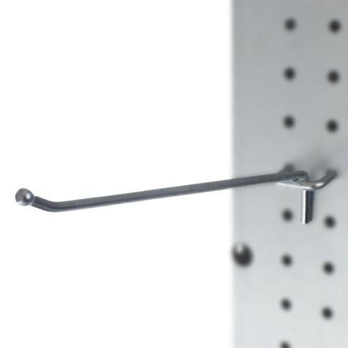 Presa Heavy Duty 8-Inch Metal Peg Board Shelving Hooks, 50-P