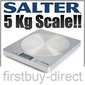 Salter Digital Kitchen Scales
