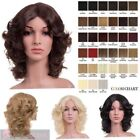 Medium Length Curly Wigs for Women