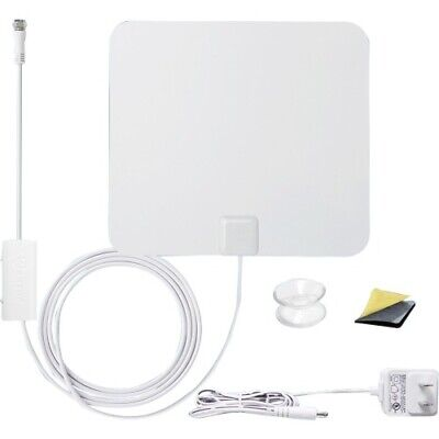 SkyStream Amplified 55 Mile HDTV Indoor/Outdoor Antenna with
