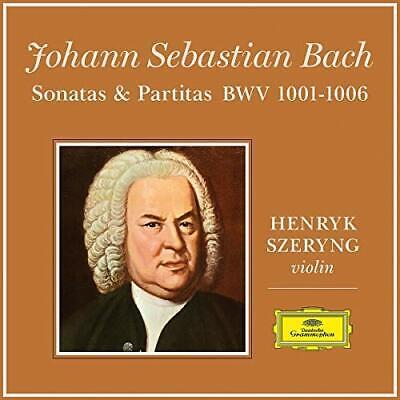 Henryk Szeryng - J.S. Bach: 6 Sonatas and Partitas for Violin Solo...