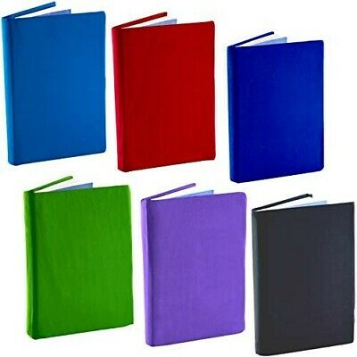Stretch Book Covers by Caliber Multicolor Lots of 6 One Size Fits Most