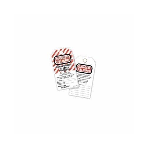 "MasterLock 497AX Spanish/English ""DO NOT OPERATE"" Tags (12PK)"