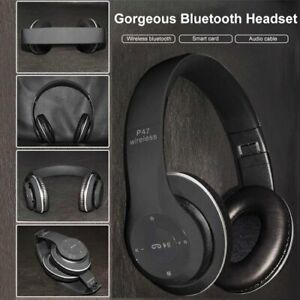 Bluetooth foldable headphones with FM radio and TF slot NEW