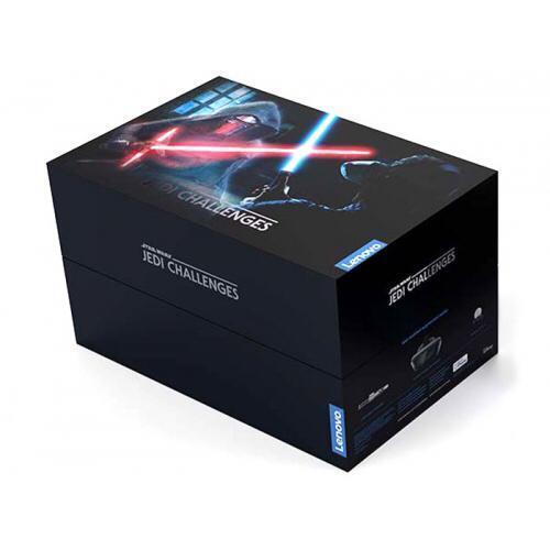 Lenovo - Star Wars Jedi Challenges AR Headset w/ Lightsaber Controller - In Box