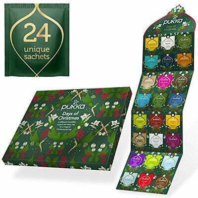 Tea Advent Calendar 2020, Non-Chocolate Advent Calendar, the perfect