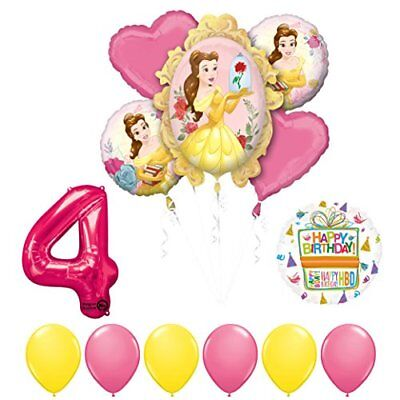Beauty And The Beast Birthday Supplies (Beauty and The Beast 4th Birthday Party Balloon supplies)