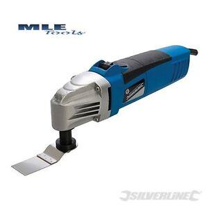 Silverline 260W 260 W Oscillating Multi-Tool Disc Cutter cutting sanding 243574