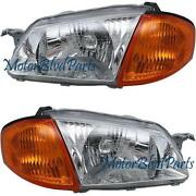 2000 Mazda Protege Headlights