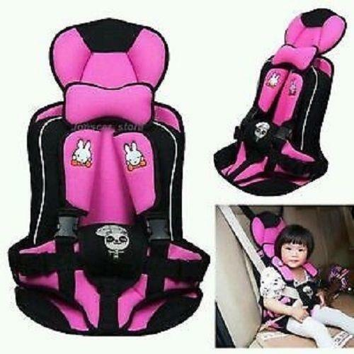 pink booster car seat ebay. Black Bedroom Furniture Sets. Home Design Ideas