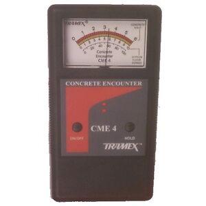 Tramex Concrete Encounter Moisture Meter CME4