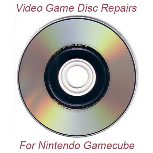 1 Professional Video Game Disc Repair Service For Nintendo Gamecube Only