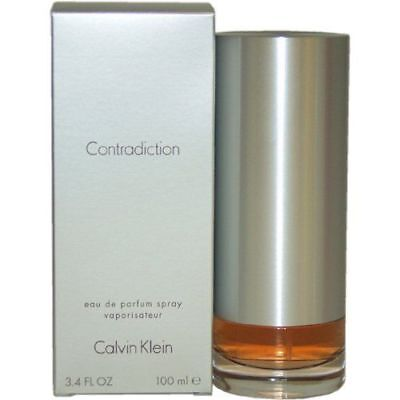 Contradiction By Calvin Klein 3.3 / 3.4 Oz EDP SP NIB Sealed Perfume For Women