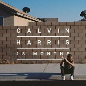 MUSIC CD ALBUM CALVIN HARRIS 18 MONTHS LOOK 15 TRACKS BOUNCE KELIS EXAMPLE SONY.