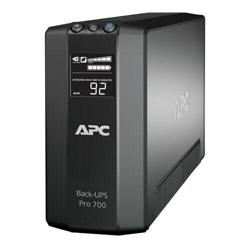 APC Back-UPS Pro 700VA Battery Backup & Surge Protector (BR700G)
