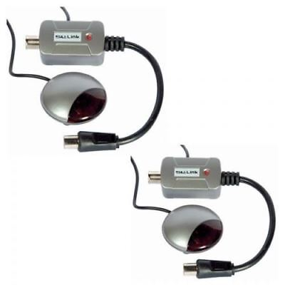 Pack of 2 SLx Link Satellite TV Remote Control Extender, Eye Remote SKY SKY PLUS