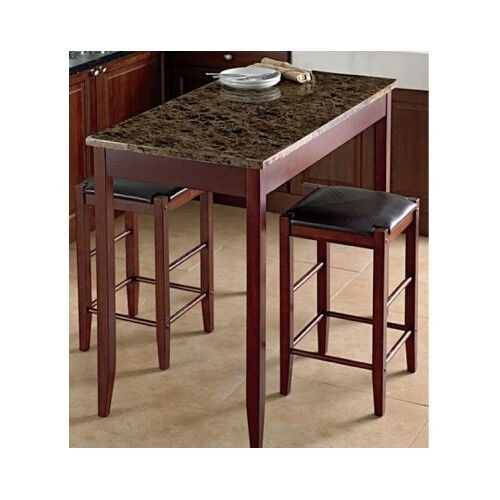 indoor bistro set ebay. Black Bedroom Furniture Sets. Home Design Ideas