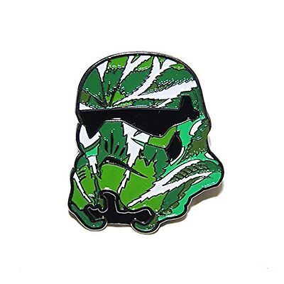 Collectible Stoned Trooper Green Leaf Enamel Hat Pin