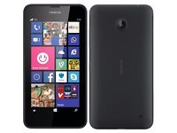 NOKIA LUMIA 4G LTE 8GB IN BLACK ###UNLOCKED TO ALL NETWORKS###