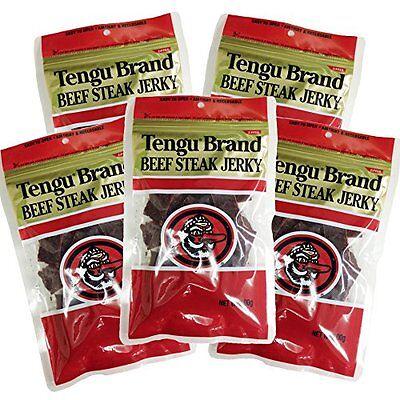 Tengu brand beef jerky regular 100g x 5 bag