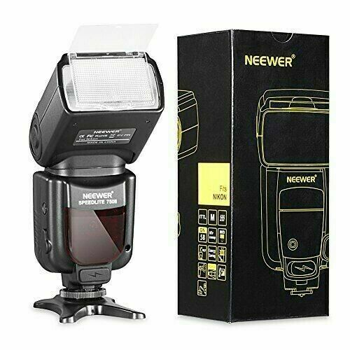 Neewer 750II TTL Flash Speedlight w/ LCD for Nikon FX & DX DSLR 750ll Speedlite