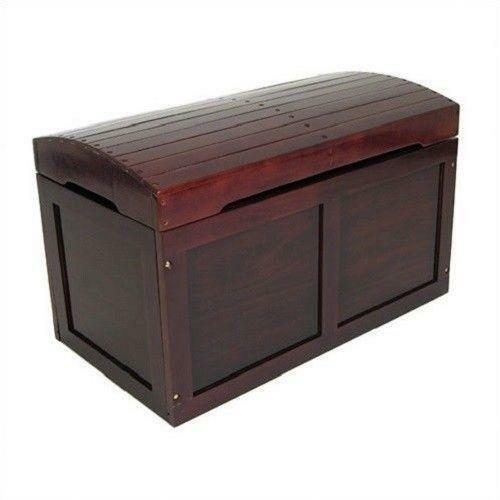 Childrens Jumbo Bedroom Room Tidy Toy Storage Chest Box Trunk: Treasure Chest Toy Box