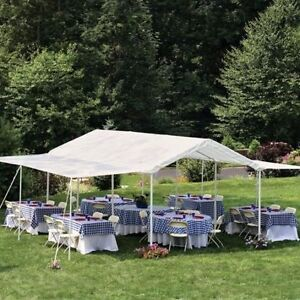 CHAPITEAU 20'x10' 2 in 1 Party Tent