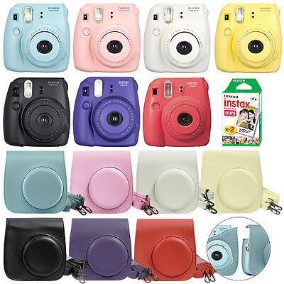 Fuji Instax Mini 8 Fujifilm Instant Film Camera All Colors+