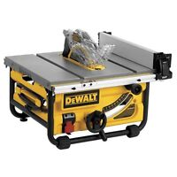 "banc de scie DEWALT DWE7480 R 10"" Compact Job Site Table Saw"