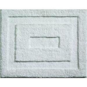 White Bathroom Rug