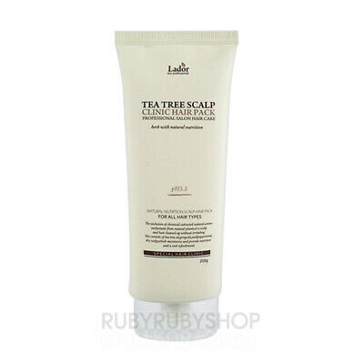 [Lador] Tea Tree Scalp Clinic Hair Pack - 200g