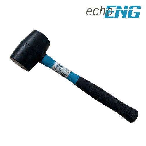 Mazzuola mazza martello in gomma manico in fibra  Ø 50-65 mm - UM 50 MZG(5-6)