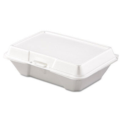 Dart Carryout Food Container, Foam, 1-Comp, 9 3/10 x 6 2/5 x 2 9/10, 200/Carton