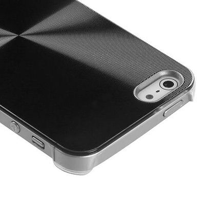 For iPhone 5 5S SE METAL Cosmo HARD Protector Case Snap On Phone Cover -