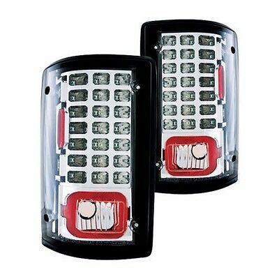 MONACO DYNASTY 2006 2007 2008 CHROME LED TAILLIGHTS TAIL LAMPS RV - SET