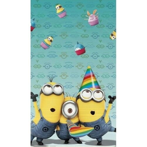 Despicable Me Minion Party Supplies - Plastic Tablecloth - CHEAPEST ON EBAY