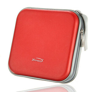 40-Disc-Double-side-CD-DVD-Storage-Case-Organizer-Holder-Hard-Wallet-Album-Red