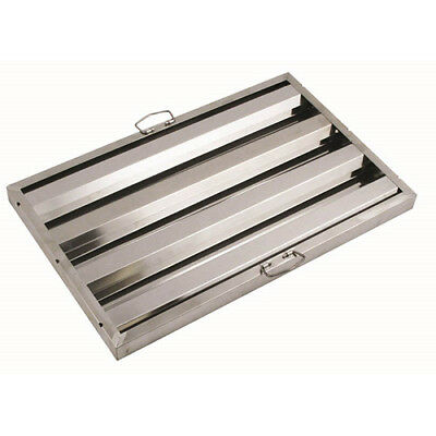 Central Restaurant Hf-1620 Stainless Steel Vent Hood Filter- 16wx20h