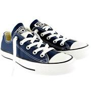Blue Low Top Converse