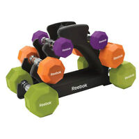 Dumbbells, 5 to 15 lbs.