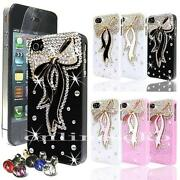 Black Diamante iPhone 4 Case