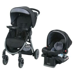 Graco FastAction Travel System (Stroller, Car Seat w/2 bases)