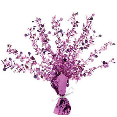 Pink Happy Birthday Cascade Weighted Centrepiece - Suits Any Age - New & Sealed ()
